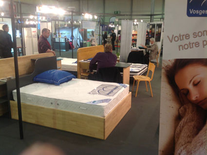 Photo de notre stand au salon Egast 2014